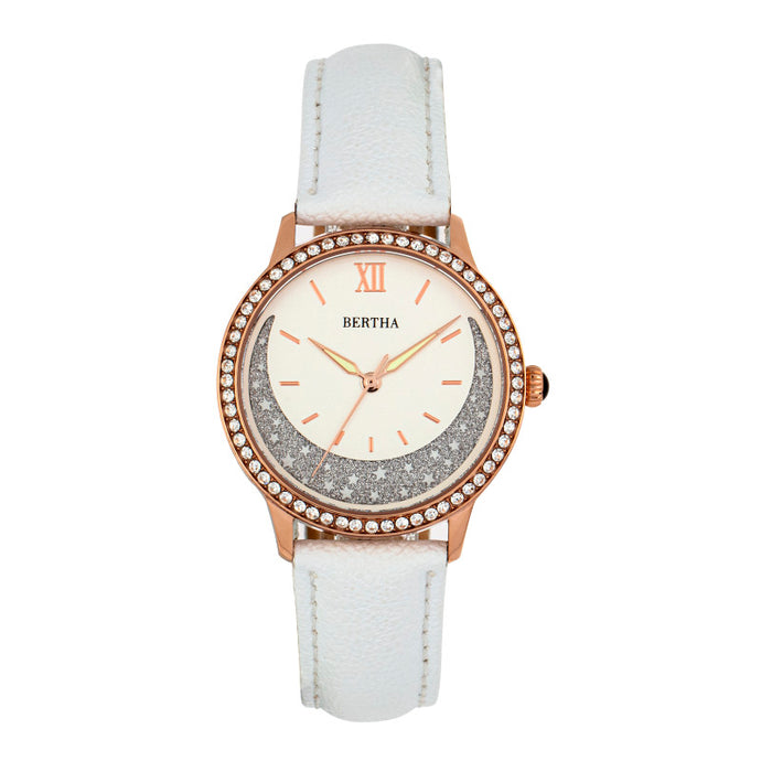 Bertha Dolly Leather-Band Watch - BTHBS1005