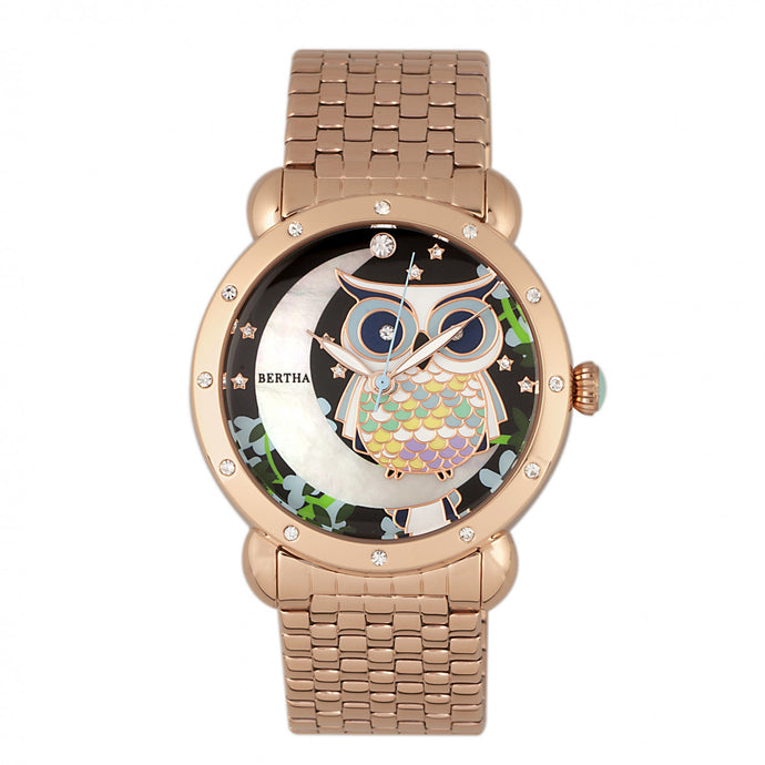Bertha Ashley MOP Ladies Watch - BTHBR3010