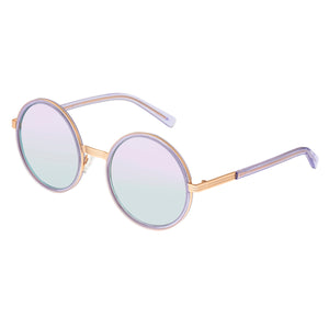 Bertha Riley Polarized Sunglasses - Rose Gold/Purple  - BRSBR028PU