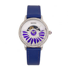 Load image into Gallery viewer, Bertha Adaline Mother-Of-Pearl Leather-Band Watch - Purple - BTHBR8203