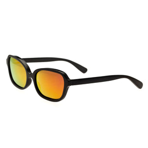 Bertha Harley Buffalo-Horn Polarized Sunglasses - Black/Gold - BRSBR004B