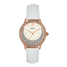 Load image into Gallery viewer, Bertha Dolly Leather-Band Watch - White  - BTHBS1005