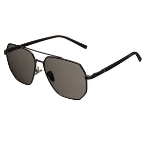 Bertha Brynn Polarized Sunglasses - Black/Black - BRSBR035GY