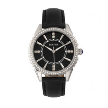 Load image into Gallery viewer, Bertha Clara Leather-Band Watch - Black - BTHBR8101