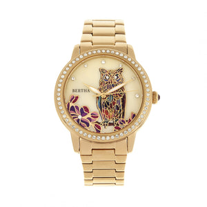 Bertha Madeline MOP Bracelet Watch - Gold - BTHBR7102