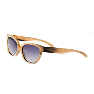 Bertha Taylor Buffalo-Horn Polarized Sunglasses