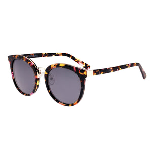 Bertha Lucy Polarized Sunglasses - Pink Tortoise/Black  - BRSBR022RG