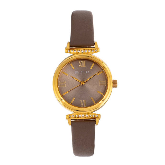 Bertha Jasmine Leather-Band Watch - BTHBR9603