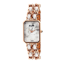Load image into Gallery viewer, Bertha Eleanor Ladies Swiss Bracelet Watch - Rose Gold/White - BTHBR5905