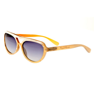 Bertha Brittany Buffalo-Horn Polarized Sunglasses