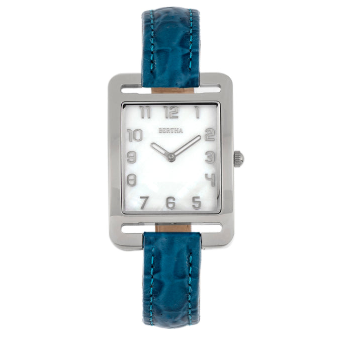 Bertha Marisol Swiss MOP Leather-Band Watch - BTHBR6901