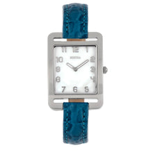 Load image into Gallery viewer, Bertha Marisol Swiss MOP Leather-Band Watch - Blue - BTHBR6901