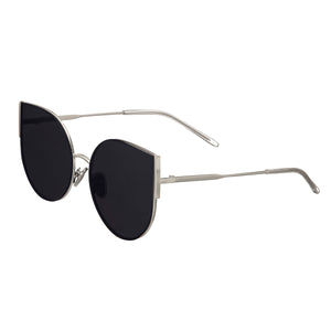 Bertha Logan Polarized Sunglasses - Silver/Silver - BRSBR036SL