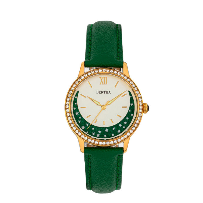 Bertha Dolly Leather-Band Watch - BTHBS1004