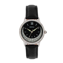 Load image into Gallery viewer, Bertha Dolly Leather-Band Watch - Black - BTHBS1001