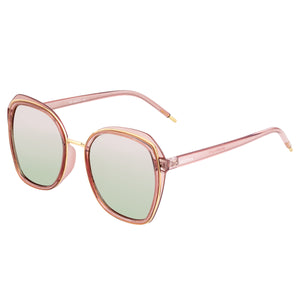 Bertha Jade Polarized Sunglasses - Pink/Rose Gold - BRSBR042PK