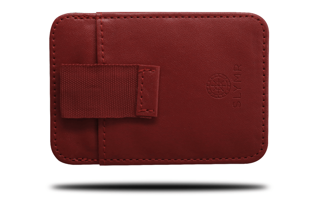 OLIVIA RED Leather wallet