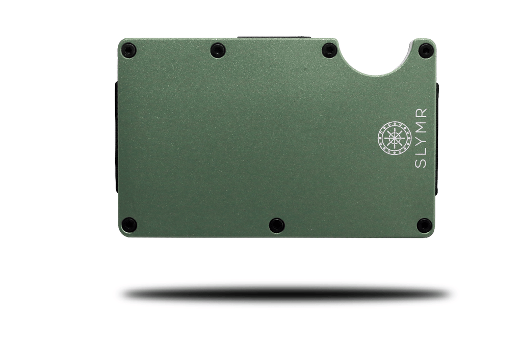 SLOAN GREEN metal wallet