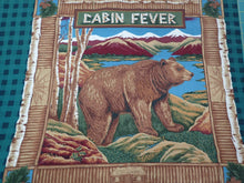 Load image into Gallery viewer, CABIN FEVER PILLOW PANEL