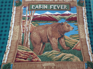 CABIN FEVER PILLOW PANEL