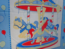 Load image into Gallery viewer, MERRY GO ROUND BLUE PANEL