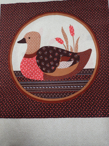 VINTAGE DUCK PILLOW PANEL