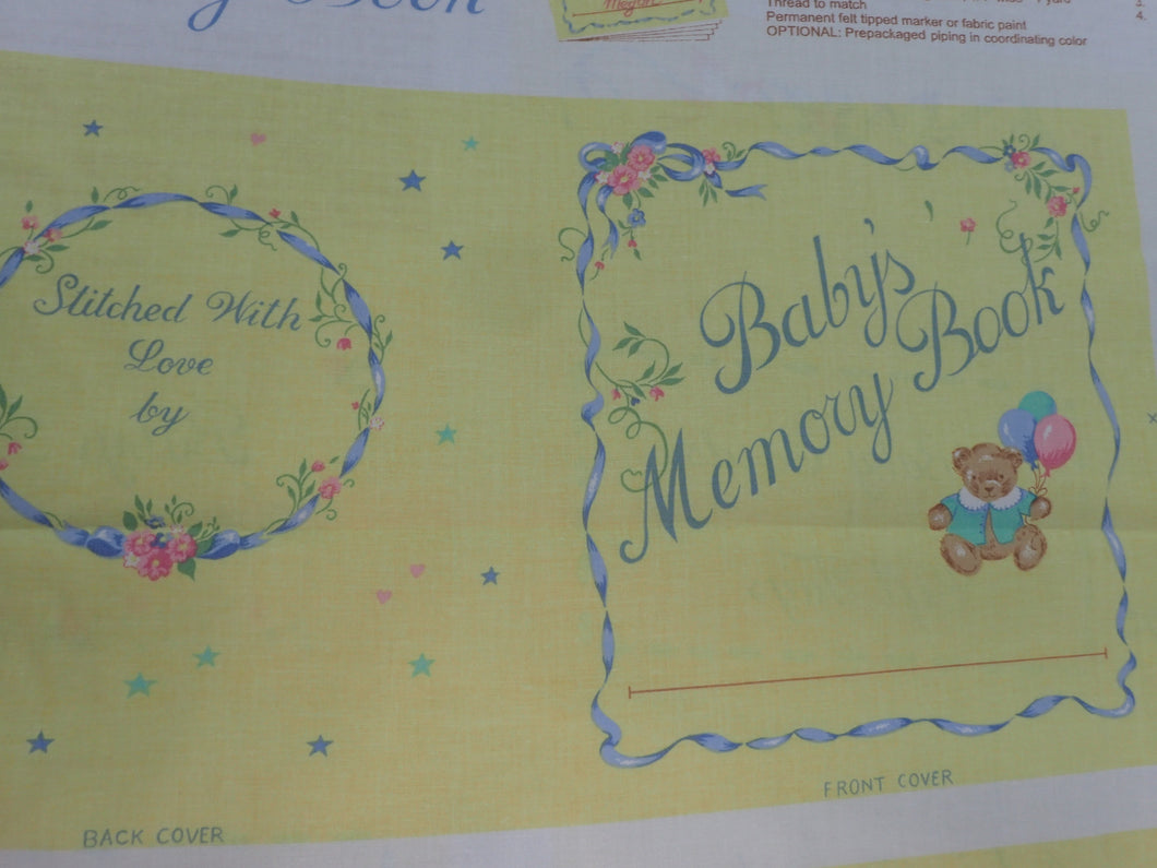 NEW BABY FABRIC BOOK PANEL