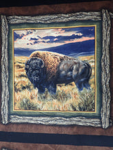 Load image into Gallery viewer, BISON RANGE PILLOW PANEL