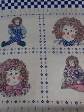 Load image into Gallery viewer, RAG DOLL QUILT PANEL/WALL HANGING