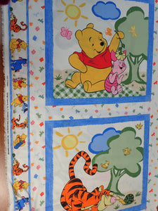 A WALK IN THE WOODS POOH PILLOW PANELS