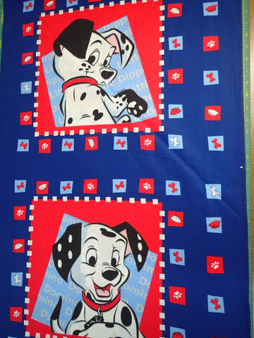 101 DALMATIONS PILLOW PANEL