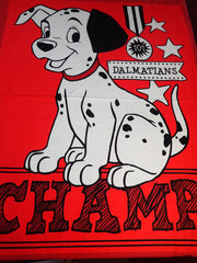 101 DALMATIONS QUILT PANEL/WALL HANGING