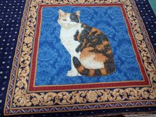 Load image into Gallery viewer, LUXURY CAT PILLOW PANEL