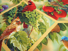 Load image into Gallery viewer, BIRD AND FRUIT LARGE WALL HANGING PANEL