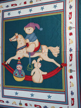 Load image into Gallery viewer, ROCKING HORSE/TOYS BABY PANEL