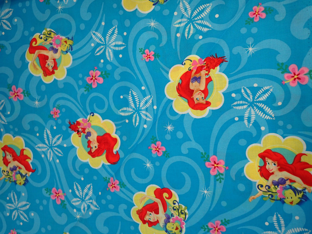 LITTLE MERMAID ALLOVER PRINT