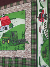 Load image into Gallery viewer, JOHN DEERE FARM SCENE PILLOW PANEL