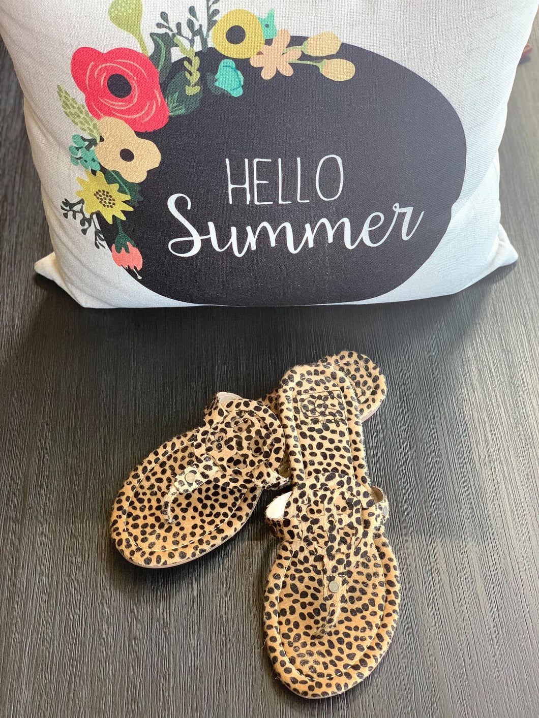 CB Cheetah Sandals