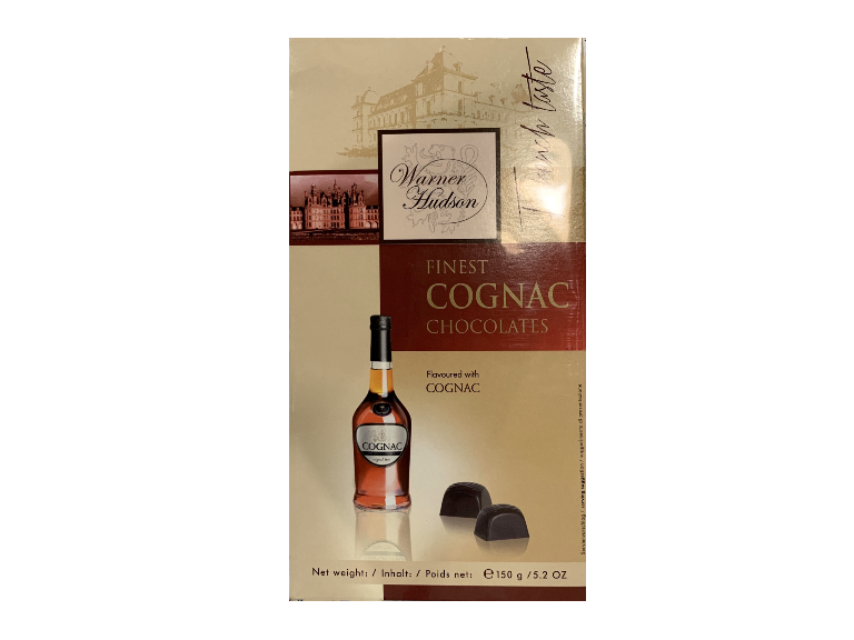 Warner Hudson Finest Cognac Chocolates