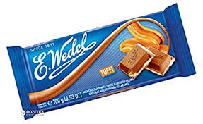 E.Wedel Milk Chocolate With Toffee Filling