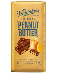 Whittaker's 33% Cocoa Peanut Butter