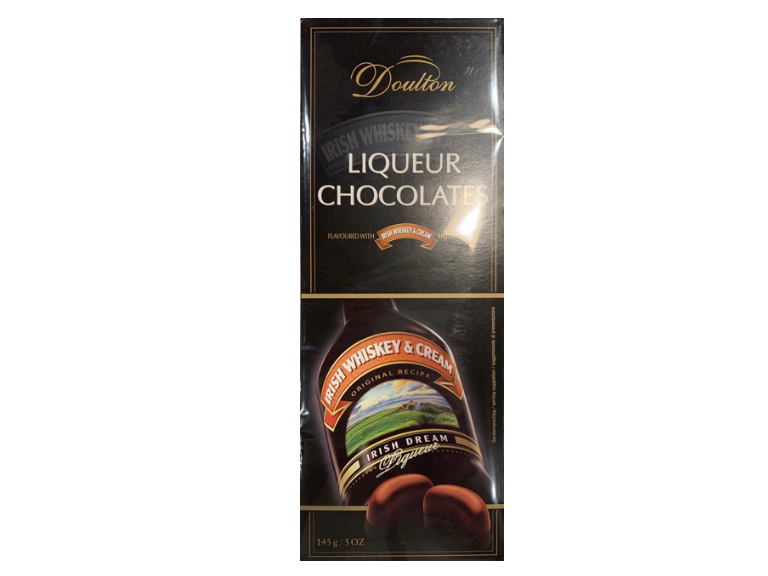 Doulton Liqueur Chocolates Flavored With Irish Whiskey & Cream