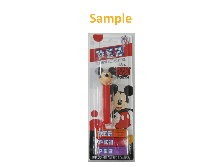 PEZ Mickey Mouse & Friends - Mickey Mouse