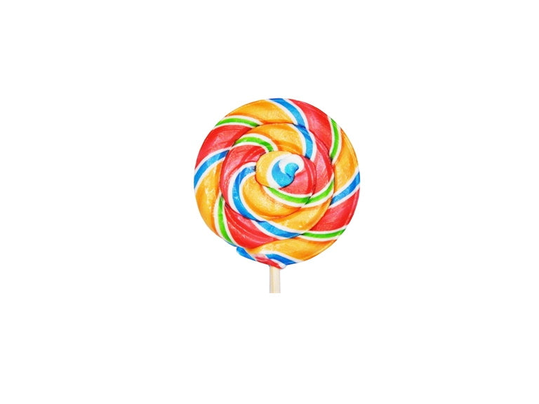 Sweet Whirls Rainbow sherbet  2.3oz