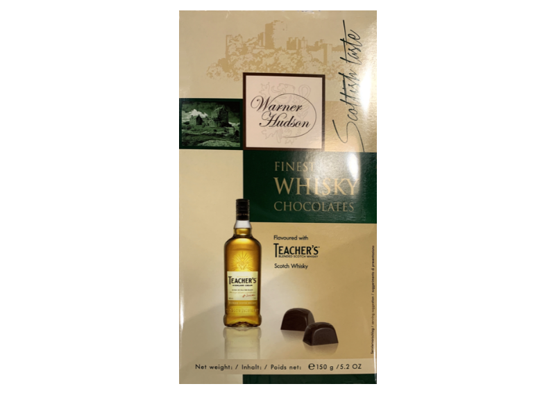 Warner Hudson Finest Whisky Chocolates