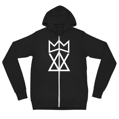 King Foolish Unisex Zip-up Hoodie