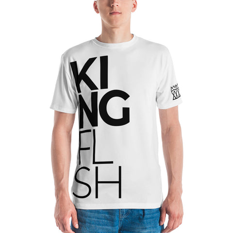 Men's KING FLSH White T-shirt