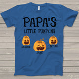 Namashops Personalized Poppy's Little Pumpkins, Custom Names Shirt