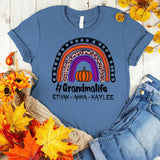 Namashops Personalized Grandma Life And Grandkids, Halloween Shirt