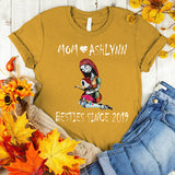 Namashops Personalized Mom And Kid, Halloween Shirt